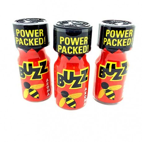 Buzz Poppers x 3 - cheap poppers shop by UK Poppers online